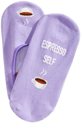 Hot Sox Women's Espresso Self Liner Socks