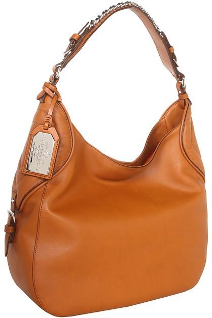 Lauren Ralph Lauren Kimblewick Large Hobo (Lauren Tan) - Bags and Luggage