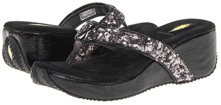 Volatile Jessica Sequins (Pewter) - Footwear