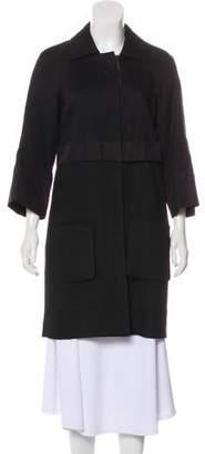 Chloé Woven Knee-Length Coat