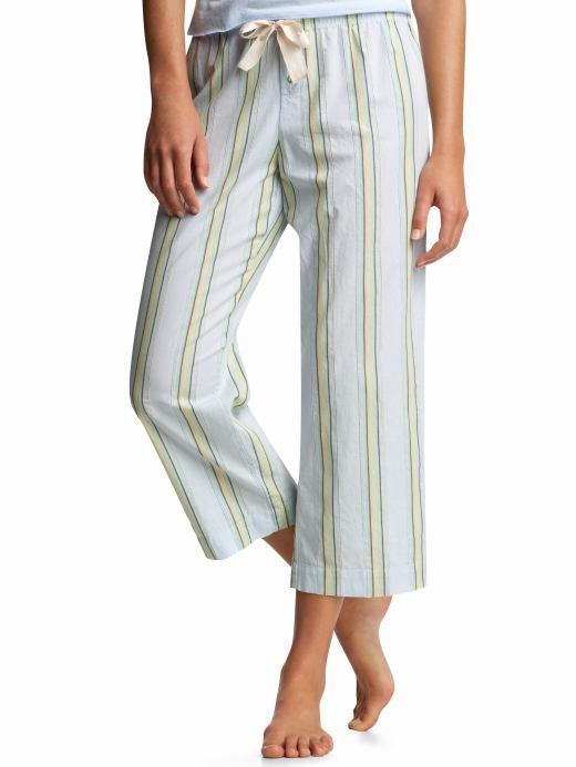 Dobby striped pajama pants
