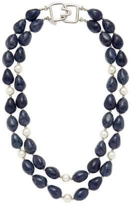 Kenneth Jay Lane Women's Gemstone Statement Necklace
