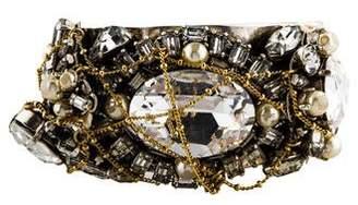 Erickson Beamon Embellished Cuff Bracelet