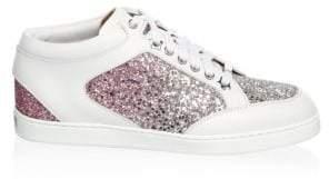 Jimmy Choo Low-top Glitter Sneaker