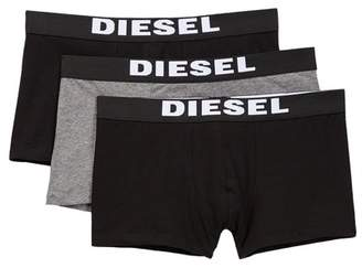 Diesel Rocco Boxer Trunk - Pack of 3 $39 thestylecure.com