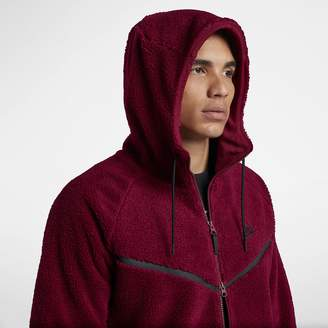 Nike Sportswear Windrunner Tech Fleece Men's Sherpa Hoodie