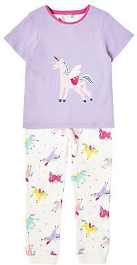 John Lewis Girls' Unicorn Pyjamas, Lilac
