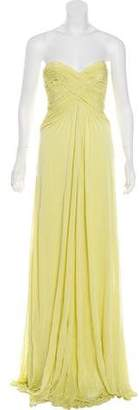 Michael Kors Gathered Evening Gown