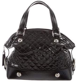 Dolce & Gabbana Quilted Patent Leather Bag