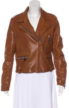 Barbara Bui Leather Moto Jacket w/ Tags