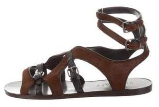 Belstaff Ponyhair Multistrap Sandals