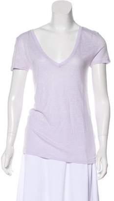 Calypso Linen Short Sleeve Top