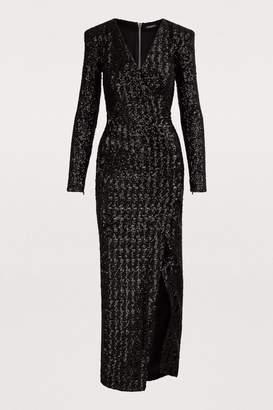 Balmain Sequin maxi dress