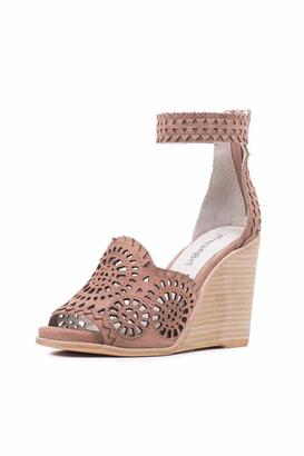 Jeffrey Campbell Taupe Cut Out Wedge $145 thestylecure.com