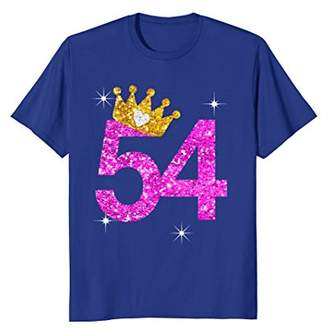 54th birthday Princess Crown shirt