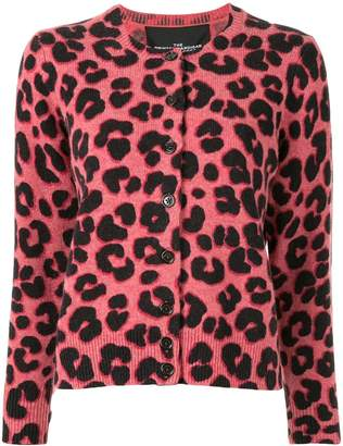 Marc Jacobs leopard print knitted cardigan
