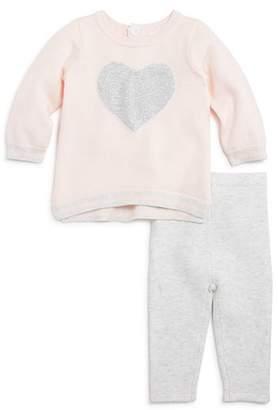 Bloomingdale's Bloomie's Girls' Heart Sweater & Leggings Set, Baby - 100% Exclusive