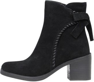 UGG Womens Fraise Whipstitch Boots Black