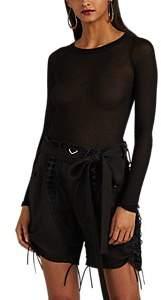 Rick Owens Women's Gossamer Rib-Knit Tank - Black