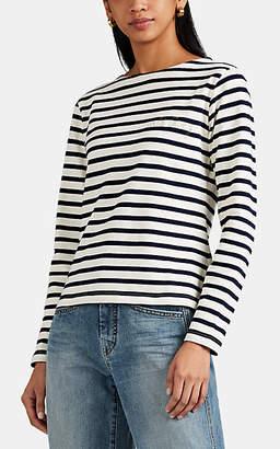 "Maison Labiche Women's ""Wild Thing"" Striped Cotton T-Shirt"
