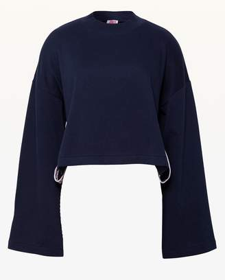 Juicy Couture JXJC Logo Tape Track Pullover