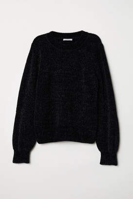 H&M Chenille Sweater - Black