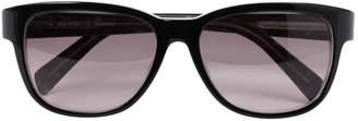 Jil Sander Black Plastic Sunglasses