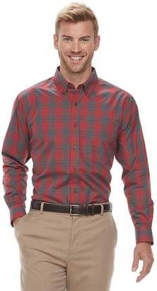 Haggar Men's Weekender Classic-Fit Button-Down Shirt