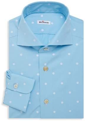 Bold Dots Dress Shirt