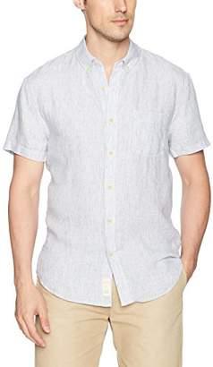 Lucky Brand Men's One Pocket Linen Shirt