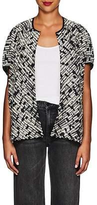 Zero Maria Cornejo Women's Koya Fil Coupé Gauze Shrug Jacket
