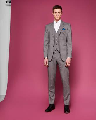 HAMDEBW Debonair slim semi plain wool waistcoat