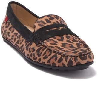Marc Joseph New York Union Street Leopard Penny Loafer