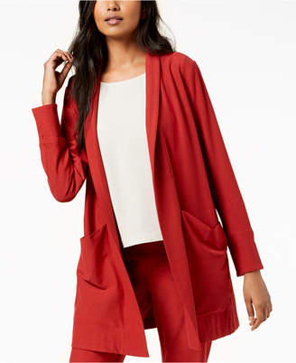 Eileen Fisher Washable Crepe Kimono Jacket, Regular & Petite