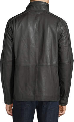 Andrew Marc Men's Hartz Smooth Leather Jacket