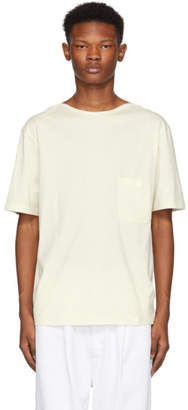 Lemaire White Light Cotton T-Shirt