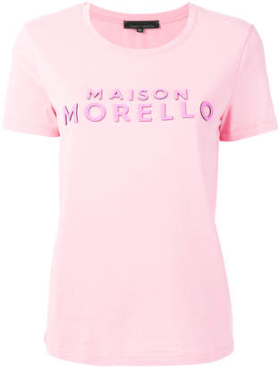 Frankie Morello short sleeved logo T-shirt