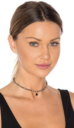 Ettika Beaded Choker in Charcoal. $39 thestylecure.com