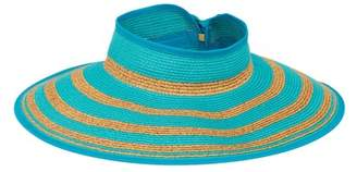 SAN DIEGO HAT Packable Striped Visor