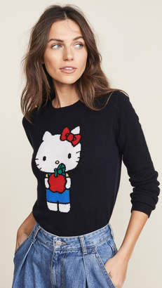 Chinti and Parker Hello Kitty Apples Cashmere Sweater