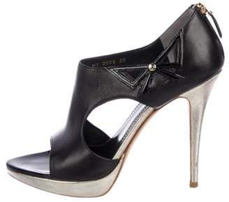 Christian Dior Lolita Cutout Sandals Black Lolita Cutout Sandals