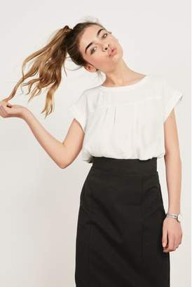 Next Womens Black Ponte Pencil Skirt
