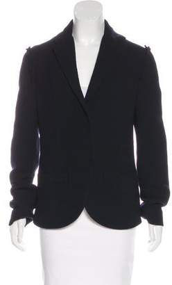 Lanvin Wool-Blend Notch-Lapel Blazer