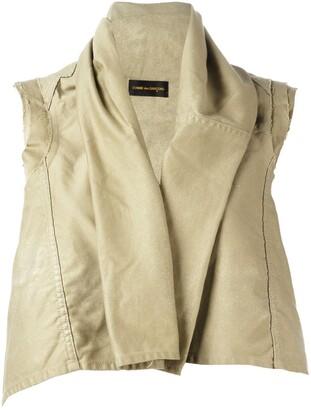 Comme des Garcons Pre-Owned gold-tone sprayed shrug