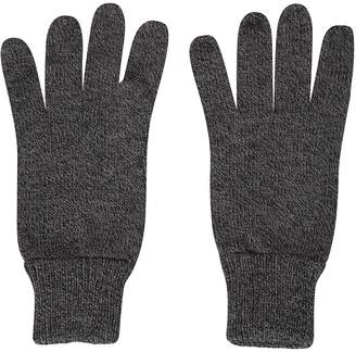 Warehouse Mountain Compass Knitted Mens Winter Gloves - Warm & Cosy