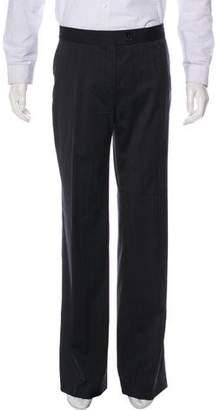 Etro Pinstripe Wool Dress Pants