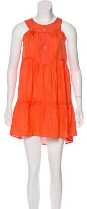 Calypso Sleeveless Crush Dress
