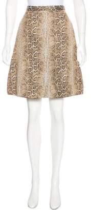 Giorgio Armani Printed Knee-Length Skirt w/ Tags