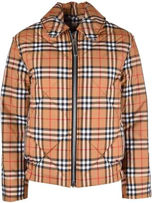 Burberry Checked Jacket