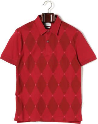 Ballantyne (バランタイン) - BALLANTYNE アーガイル柄 半袖ポロシャツ レッド s
